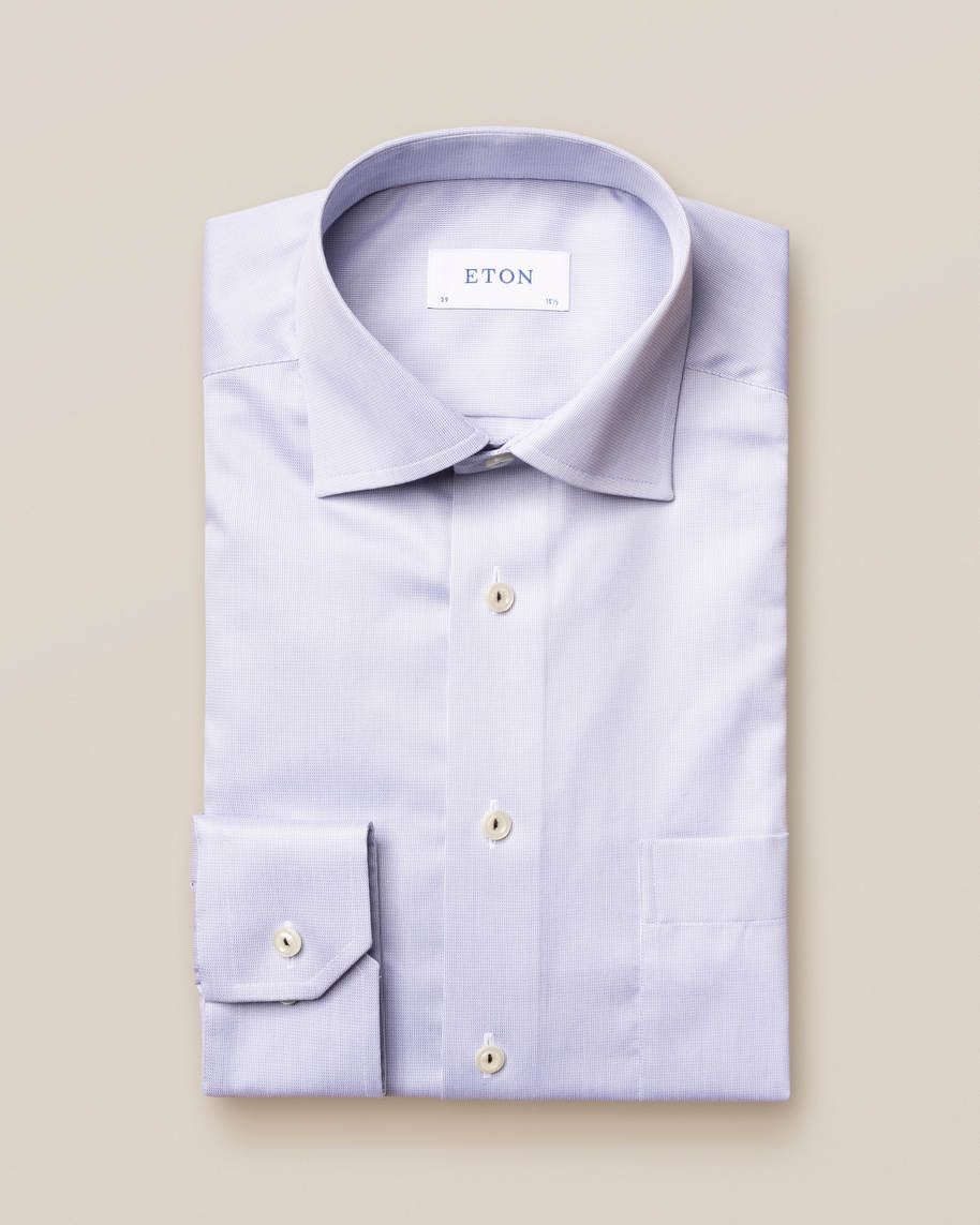 Light grey royal twill shirt - image 1