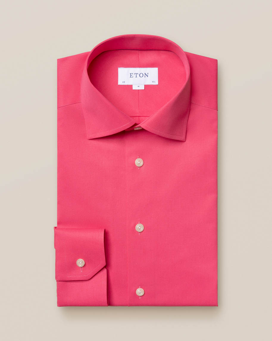 Pink satin shirt - image 1