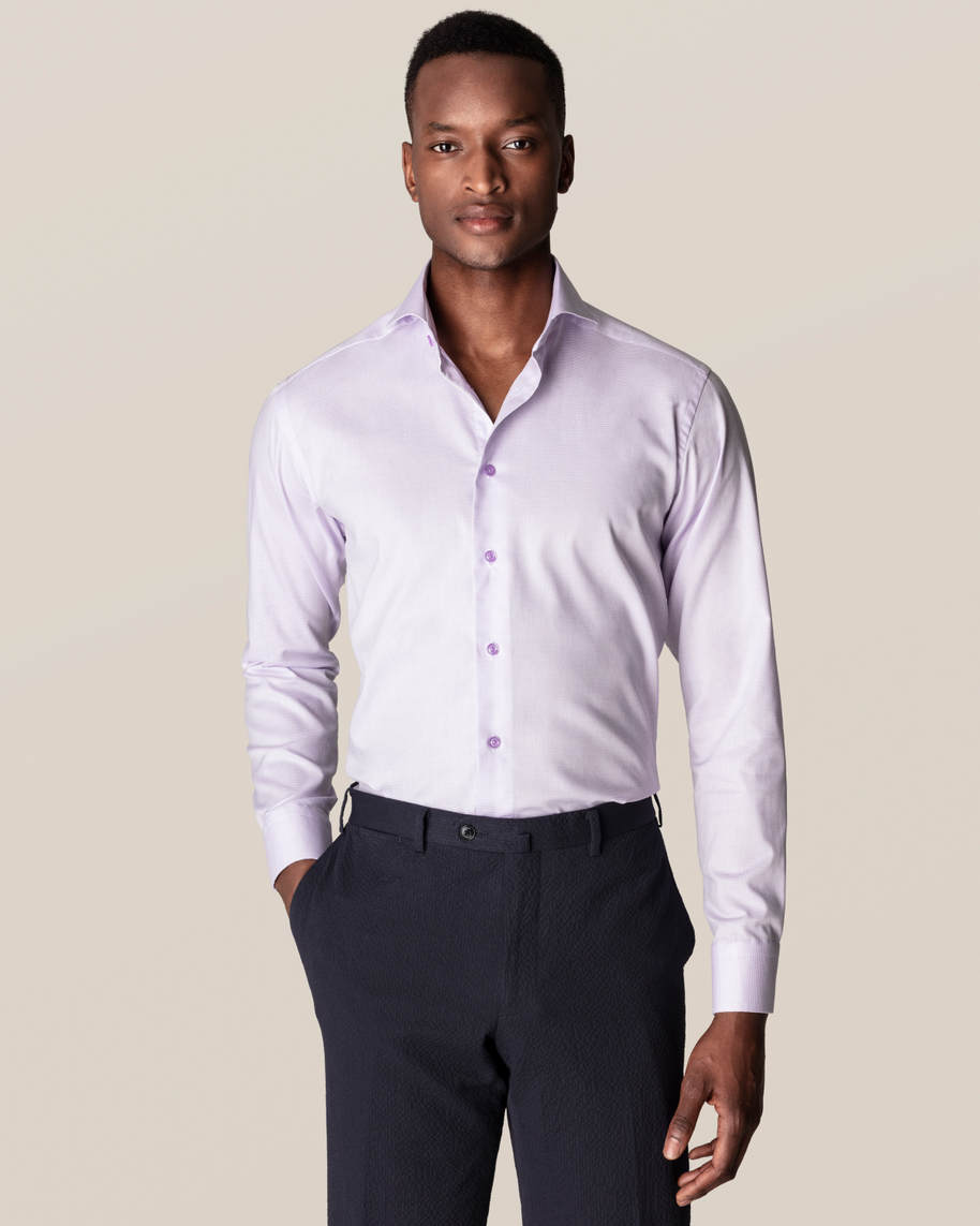 Purple Twill Shirt - image 1