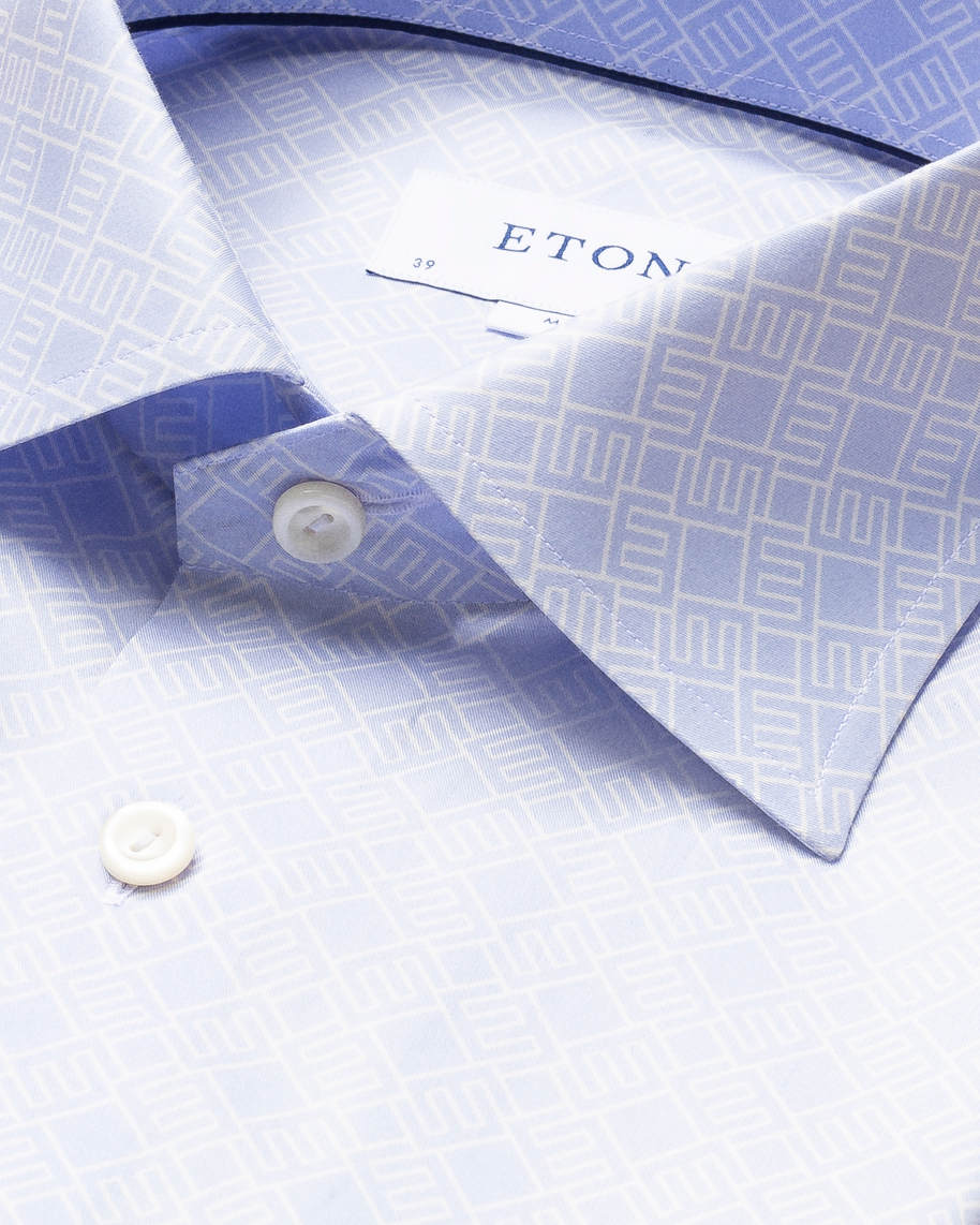 Blue Double-Monogram Shirt - image 4