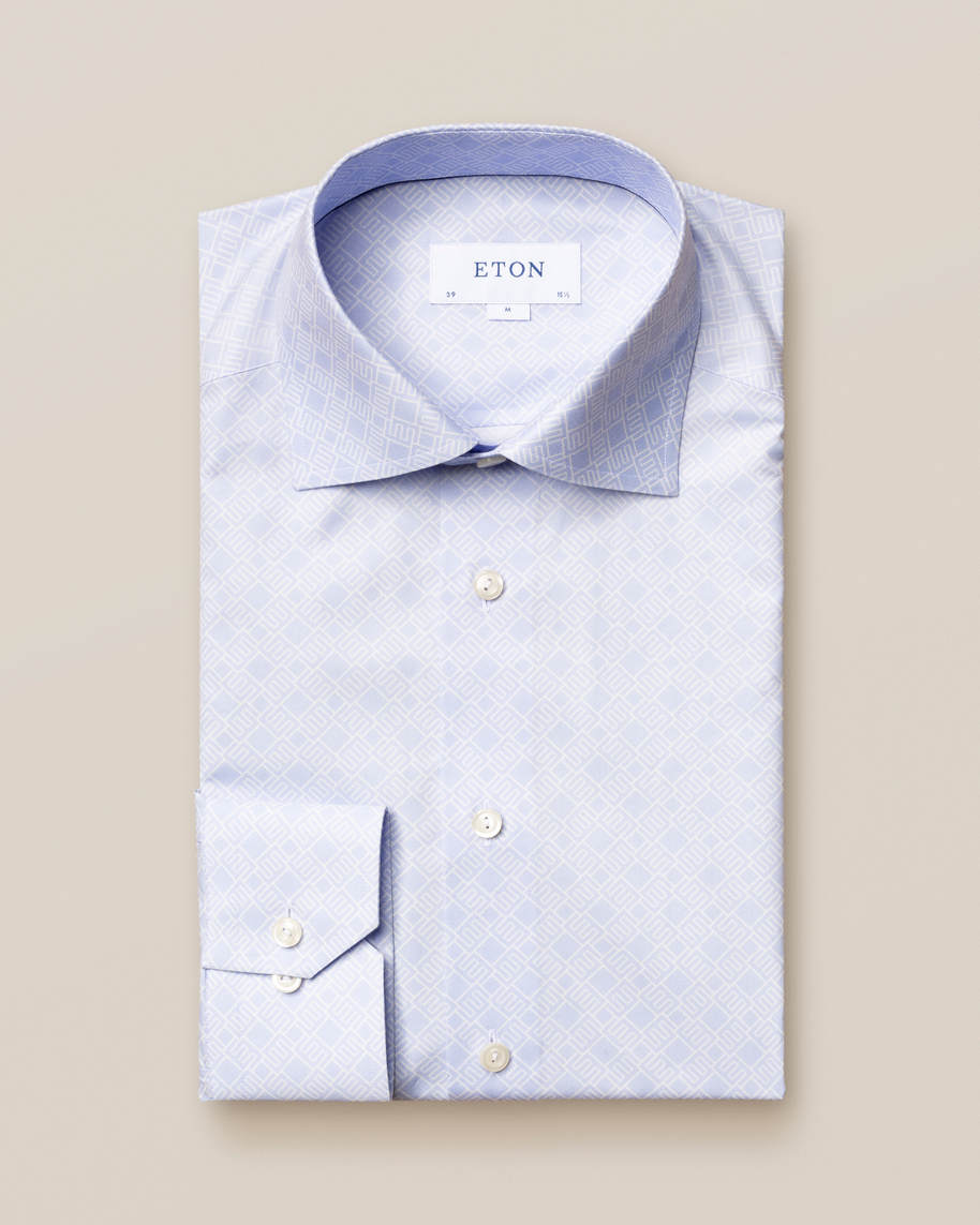 Blue Double-Monogram Shirt - image 2