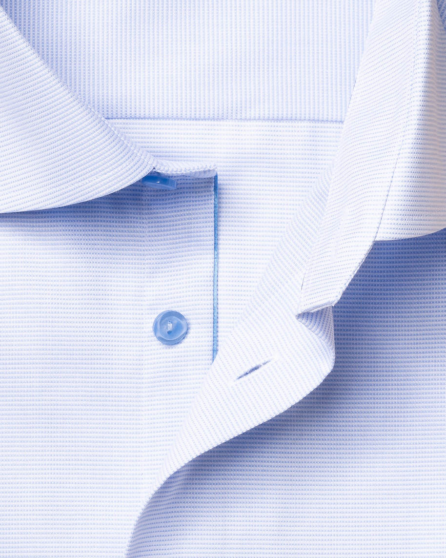 Light Blue & White Twill Shirt - image 2