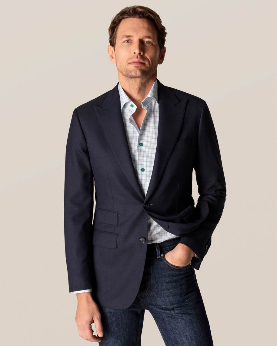 Green Checked Fine Twill Shirt - image 9