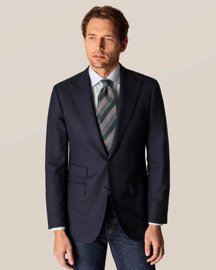 Green Checked Fine Twill Shirt - image 10