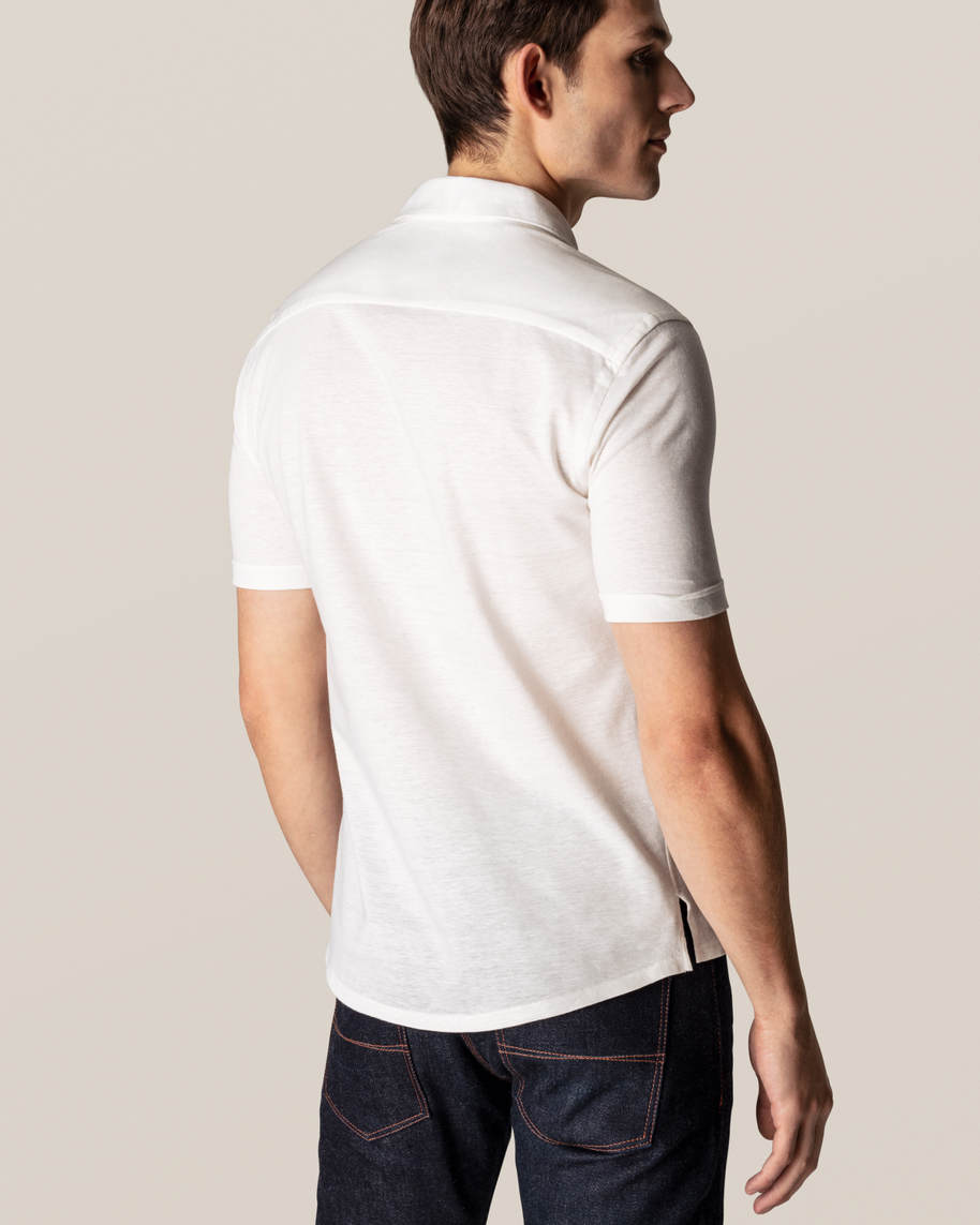 White Polo Shirt - image 8