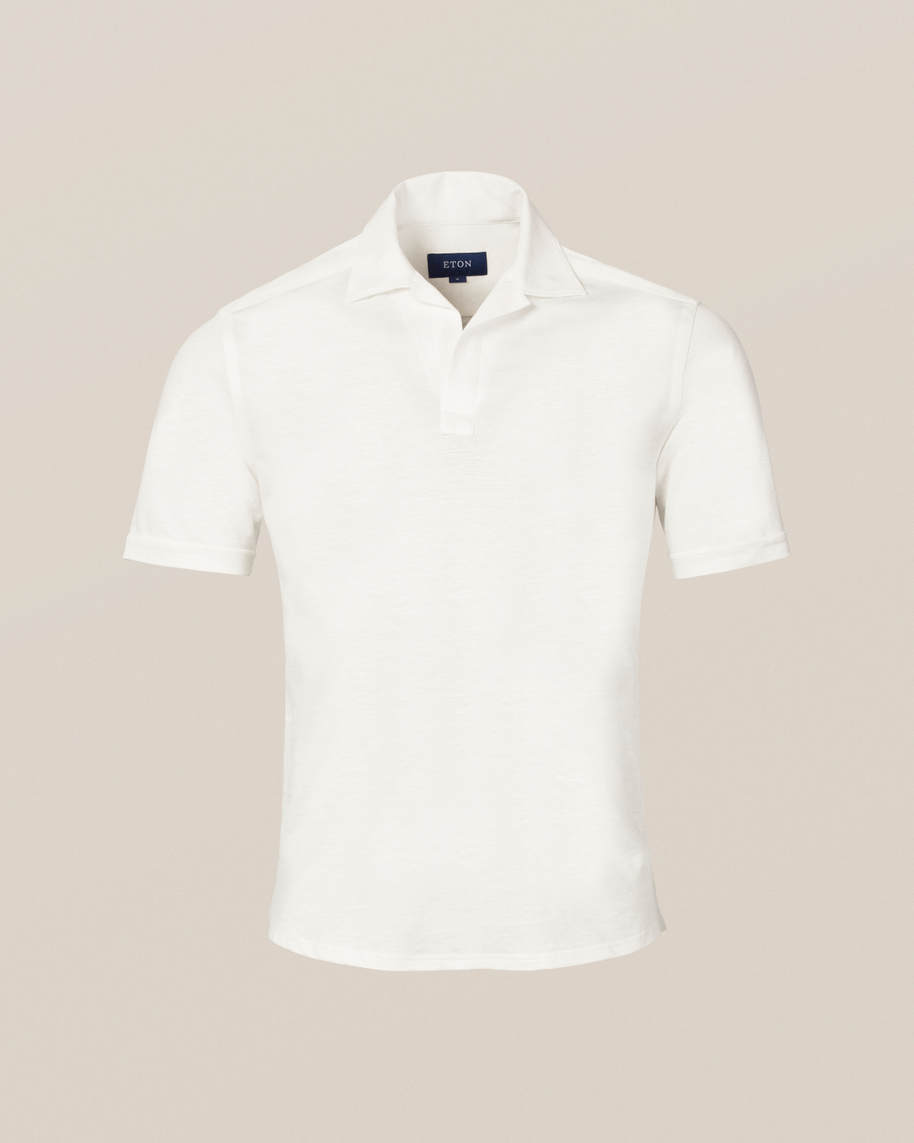 White Polo Shirt - image 11