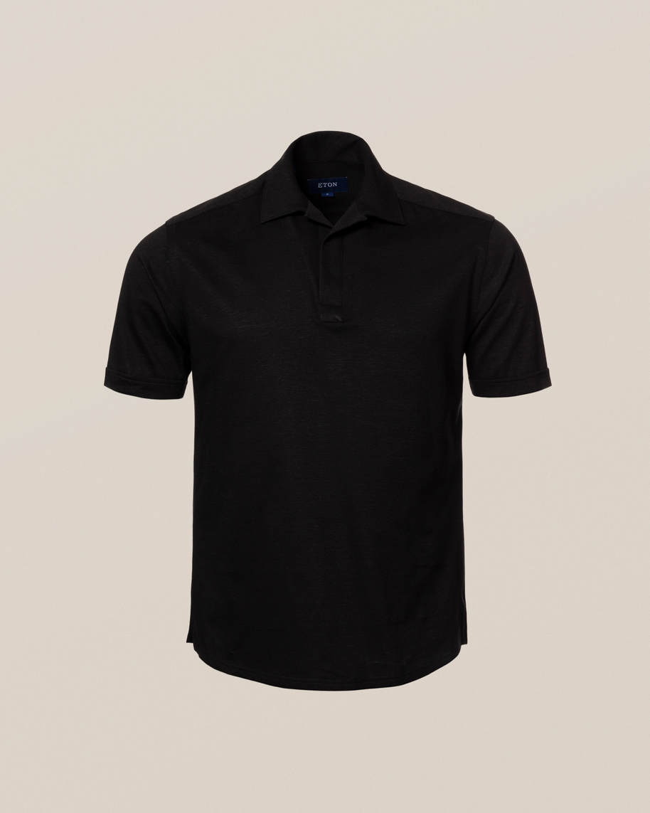 Black Polo Shirt - image 10