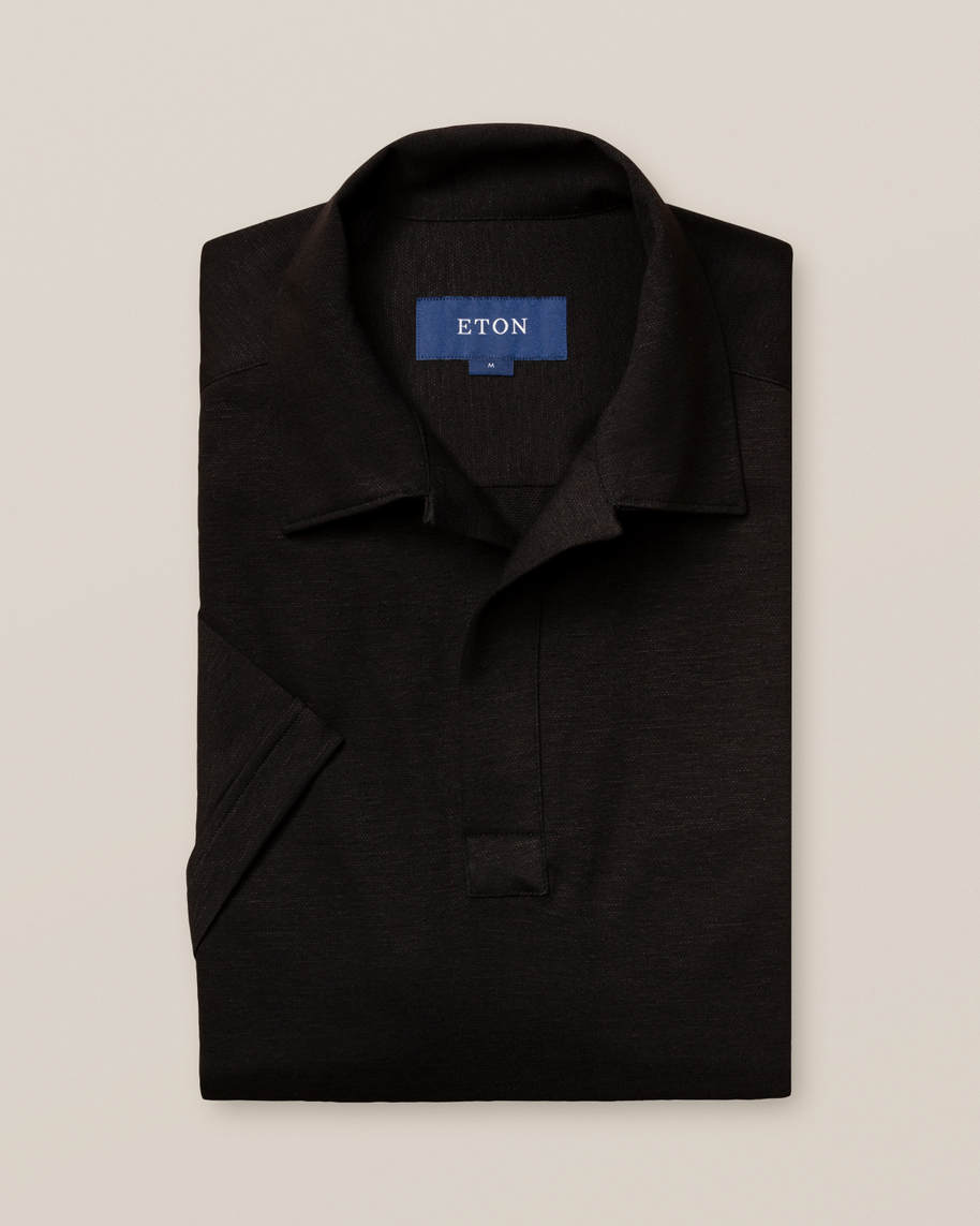 Black Polo Shirt - image 2