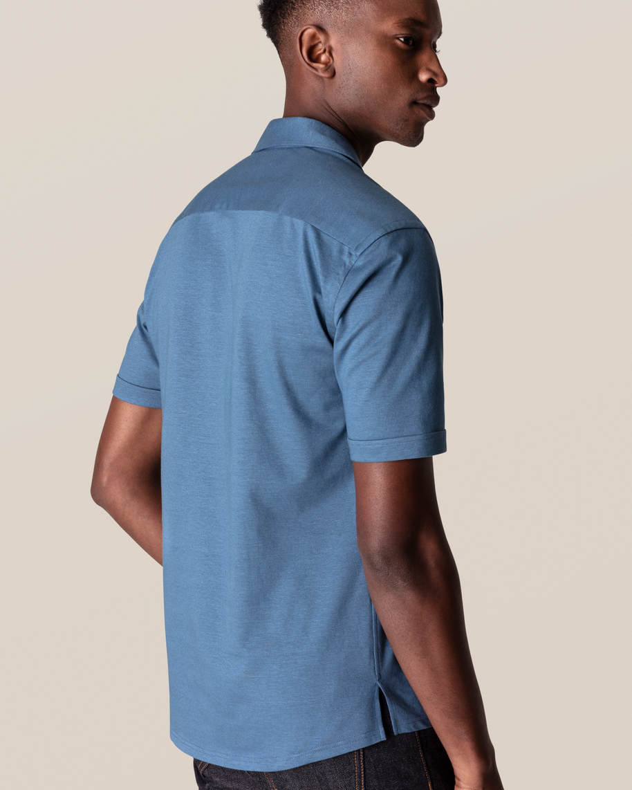 Blue Polo Shirt - image 7