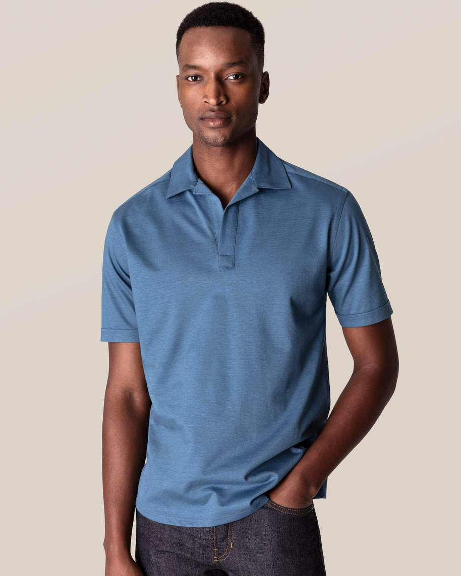 Blue Polo Shirt - image 1