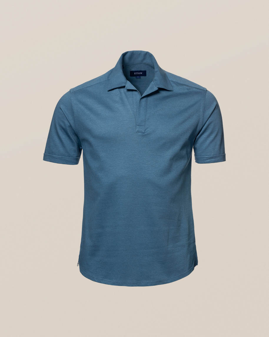 Blue Polo Shirt - image 9