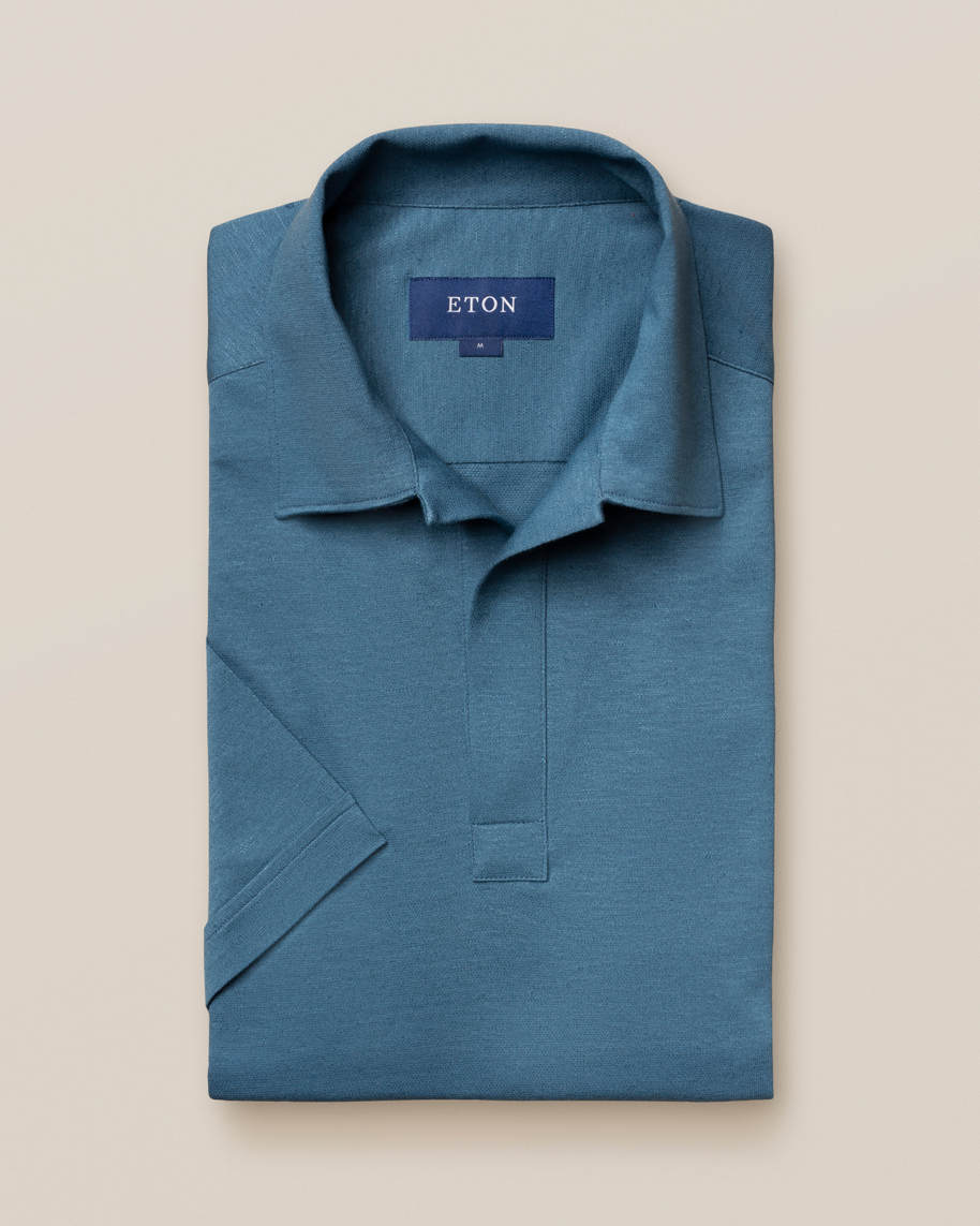 Blue Polo Shirt - image 2