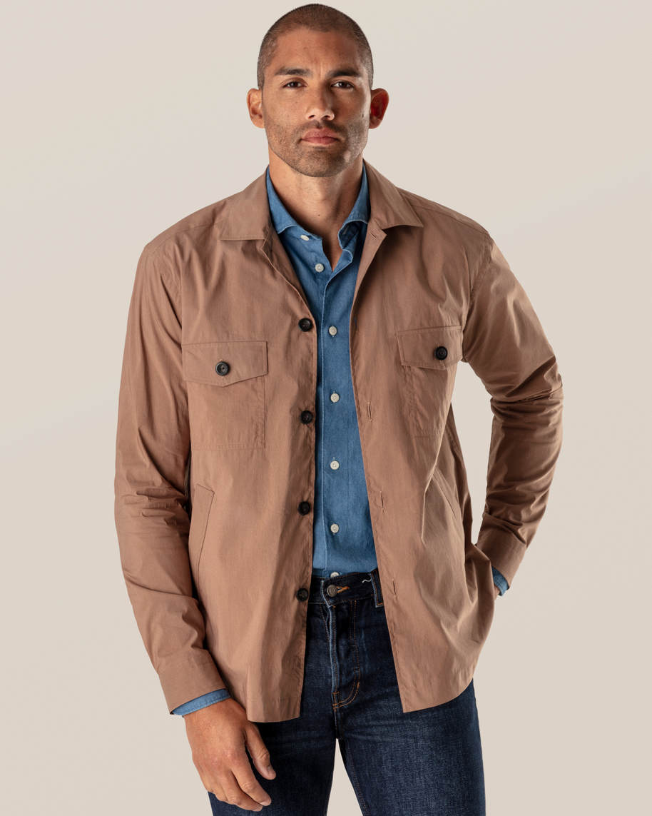 Brown Wind Overshirt - image 1