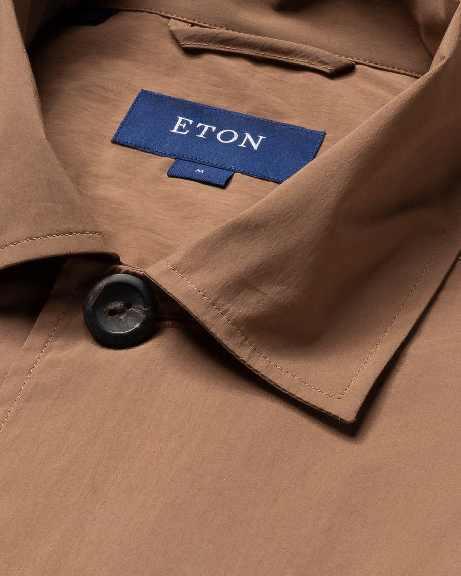 Brown Wind Overshirt