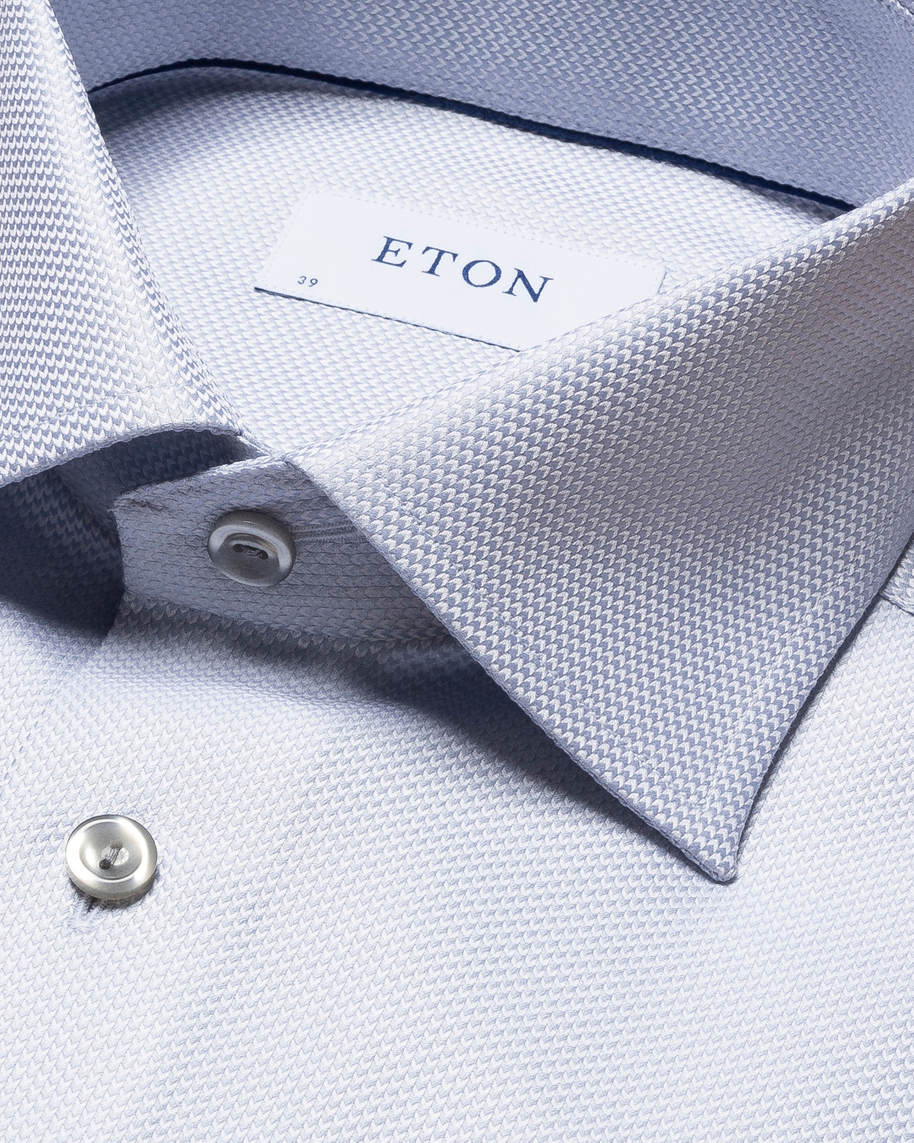 Gray Houndstooth King Twill Shirt