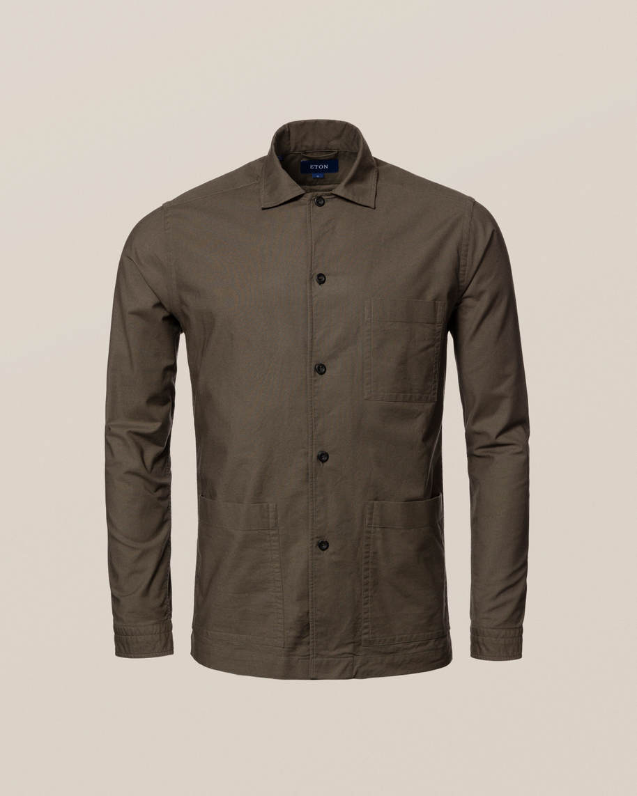 Green Heavy Oxford Shirt - image 10