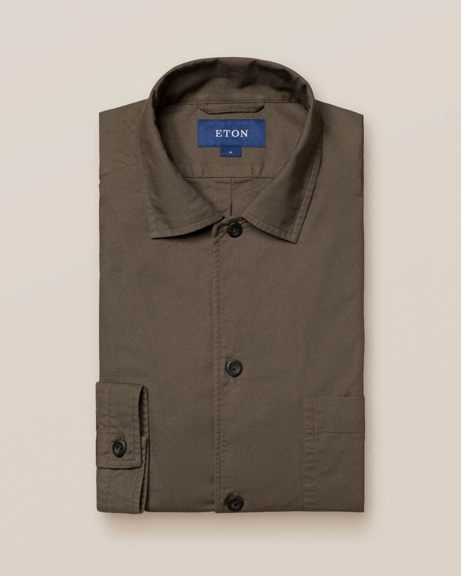 Green Heavy Oxford Shirt