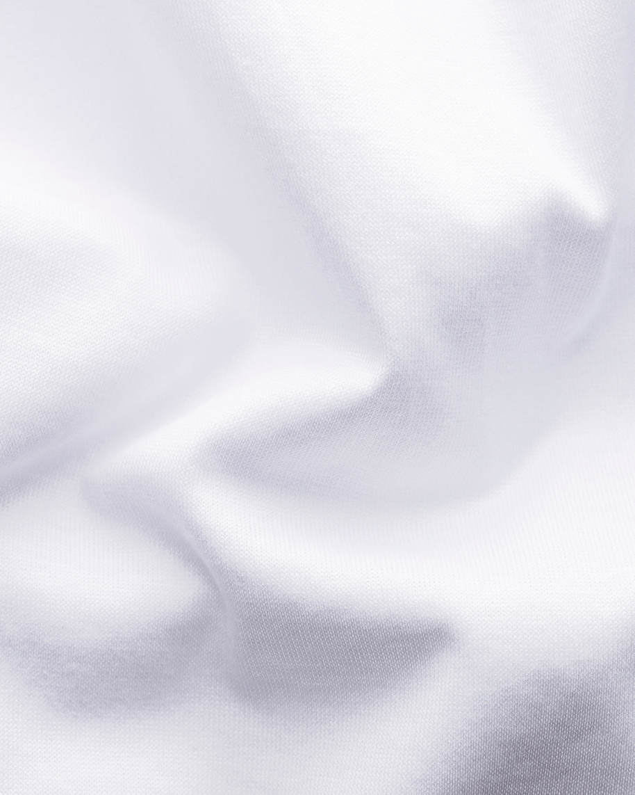 White Long-Sleeved Jersey Shirt - image 2