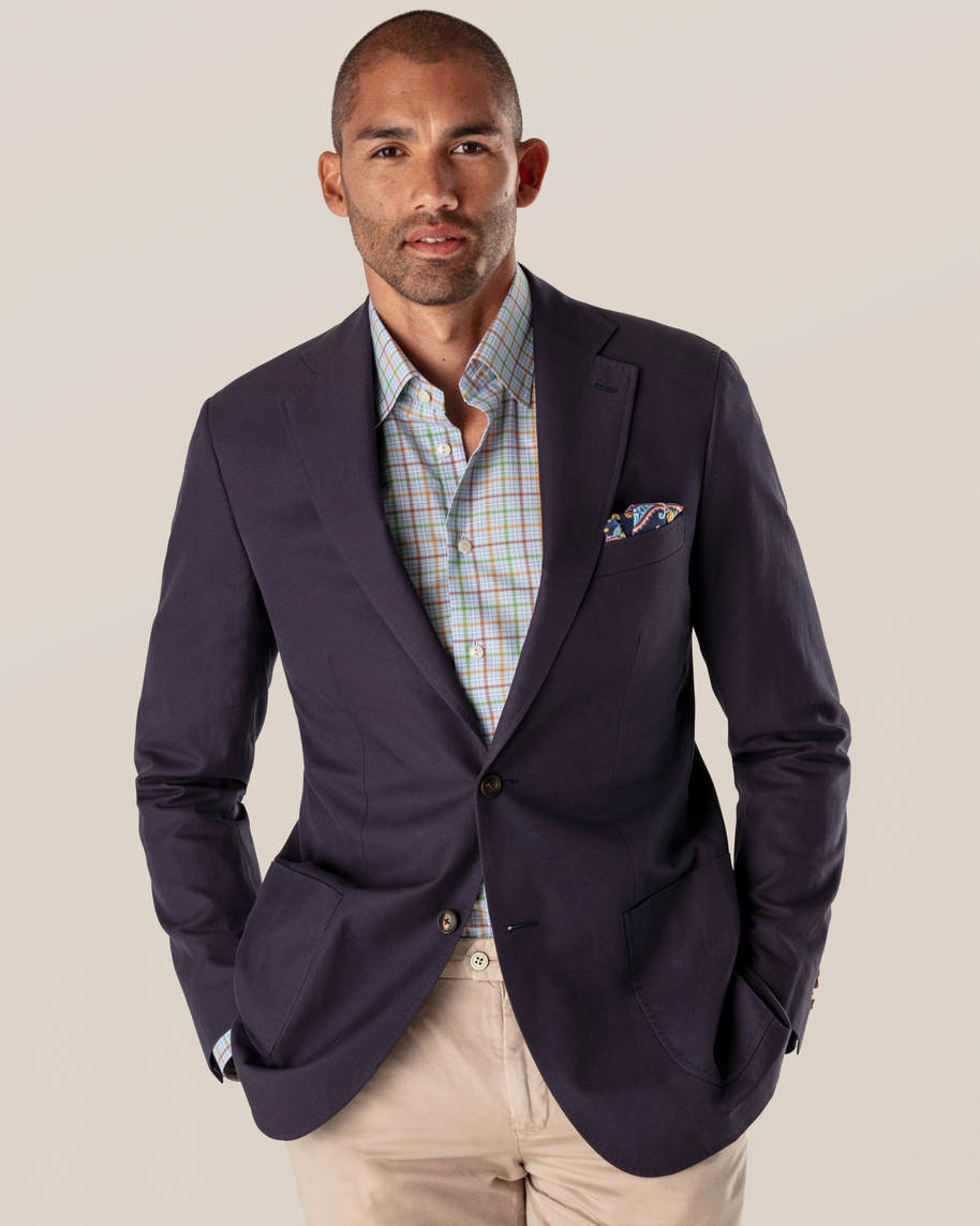 Multi Colored Checks Fine Twill Shirt - image 7