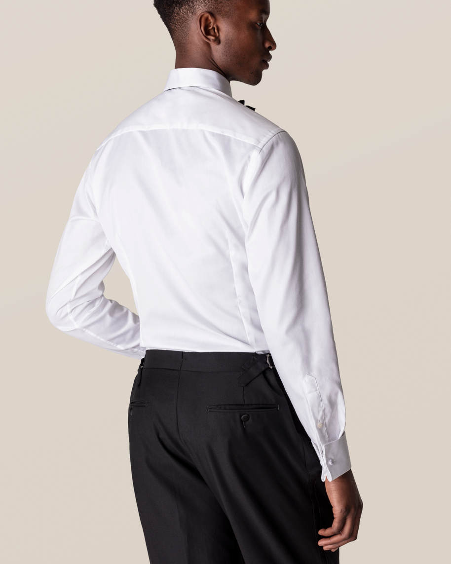 White Twill Evening Shirt - image 11