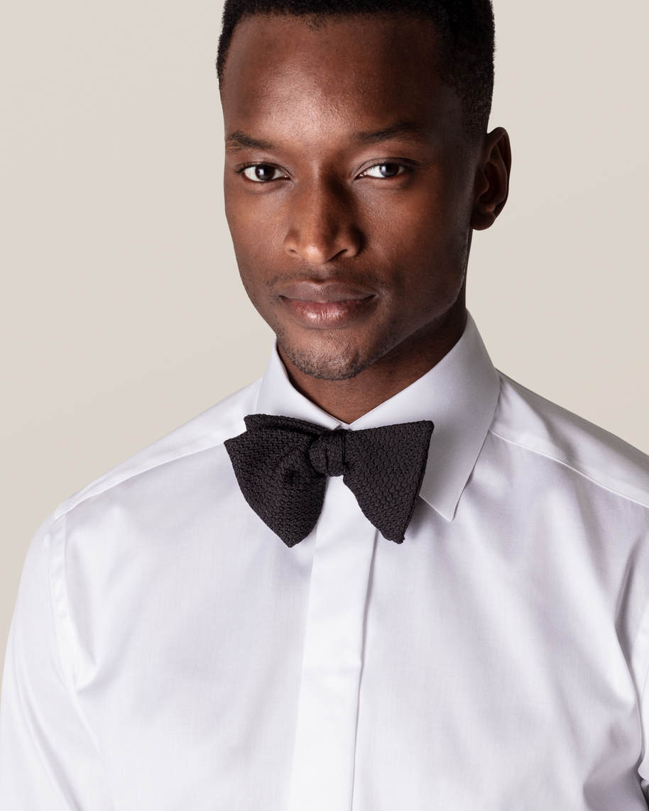 White Twill Evening Shirt - image 10