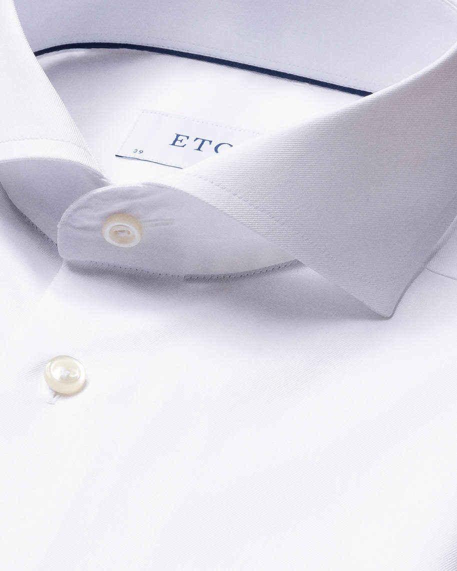 White Signature Twill Shirt - image 5