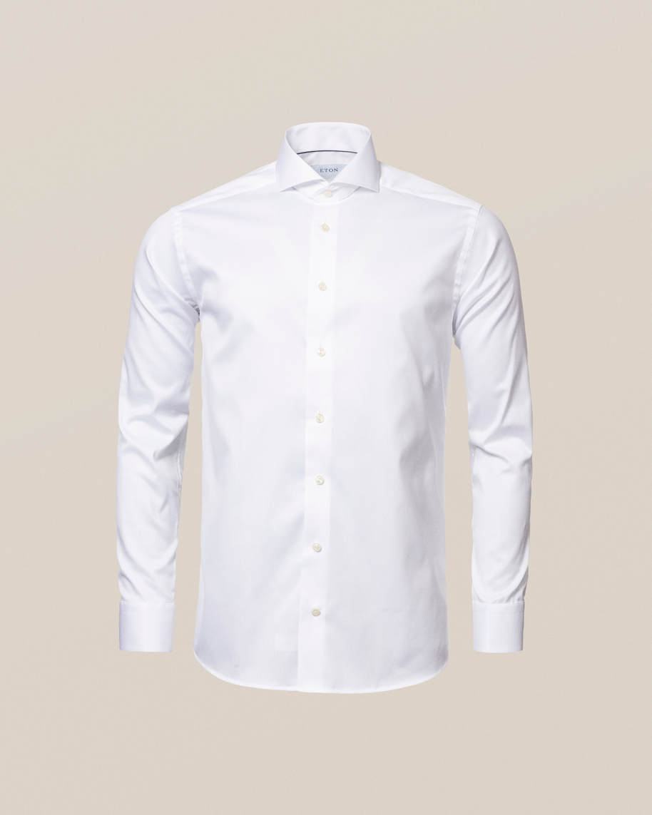 White Signature Twill Shirt - image 9