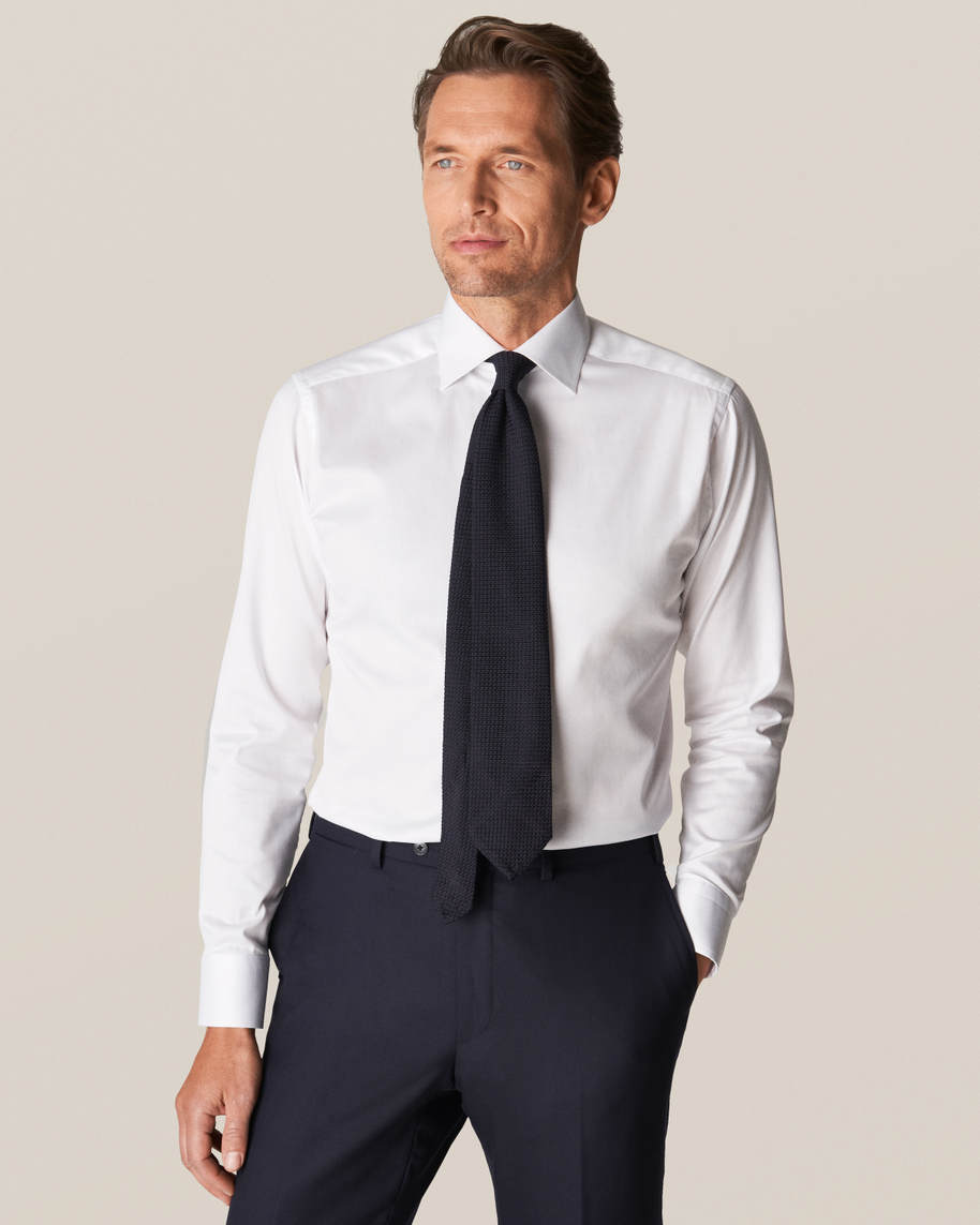 White Signature Twill Shirt - image 1