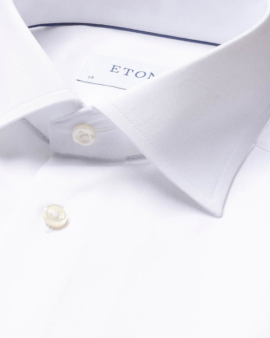 White Signature Twill Shirt - image 4