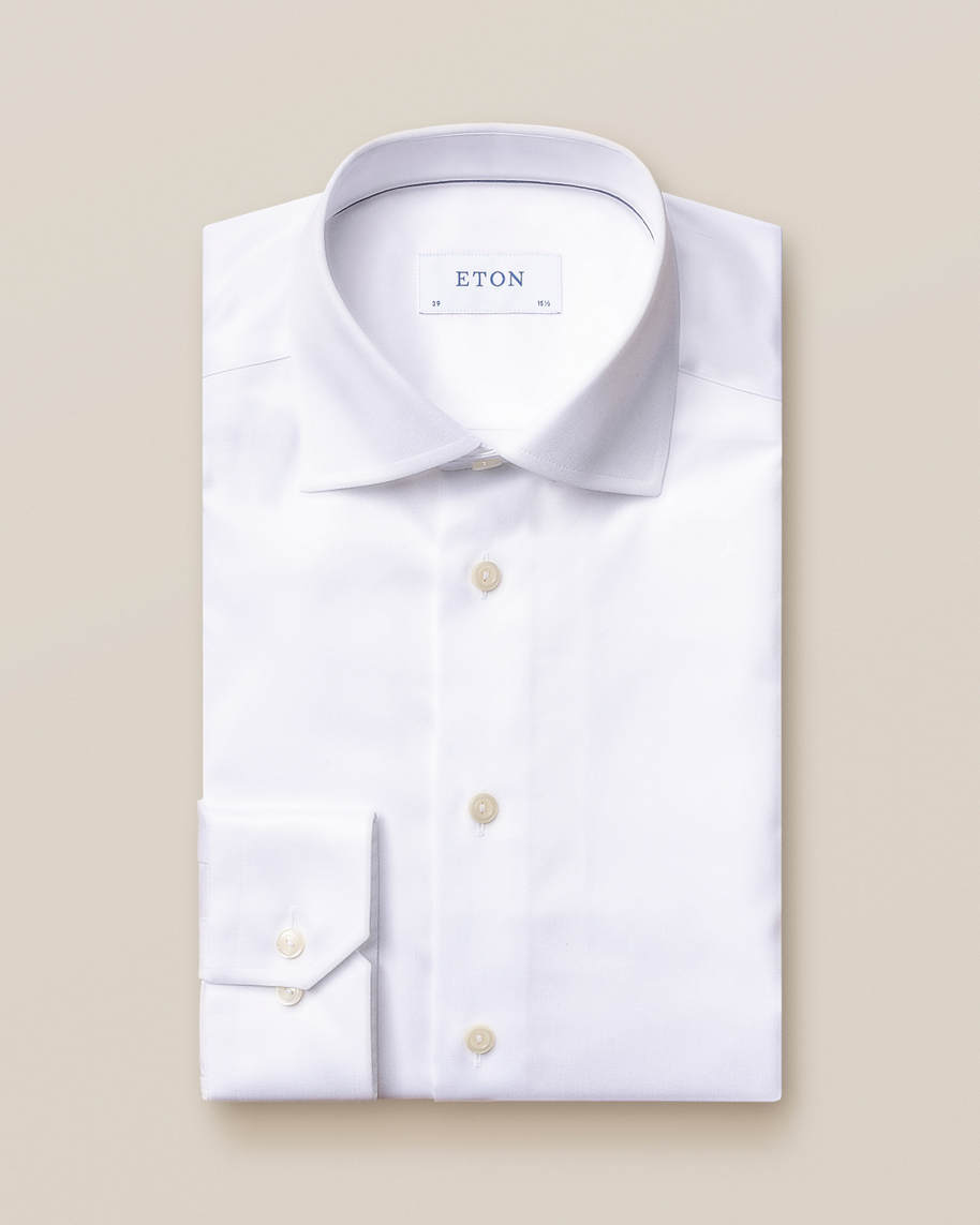 White Signature Twill Shirt - image 3