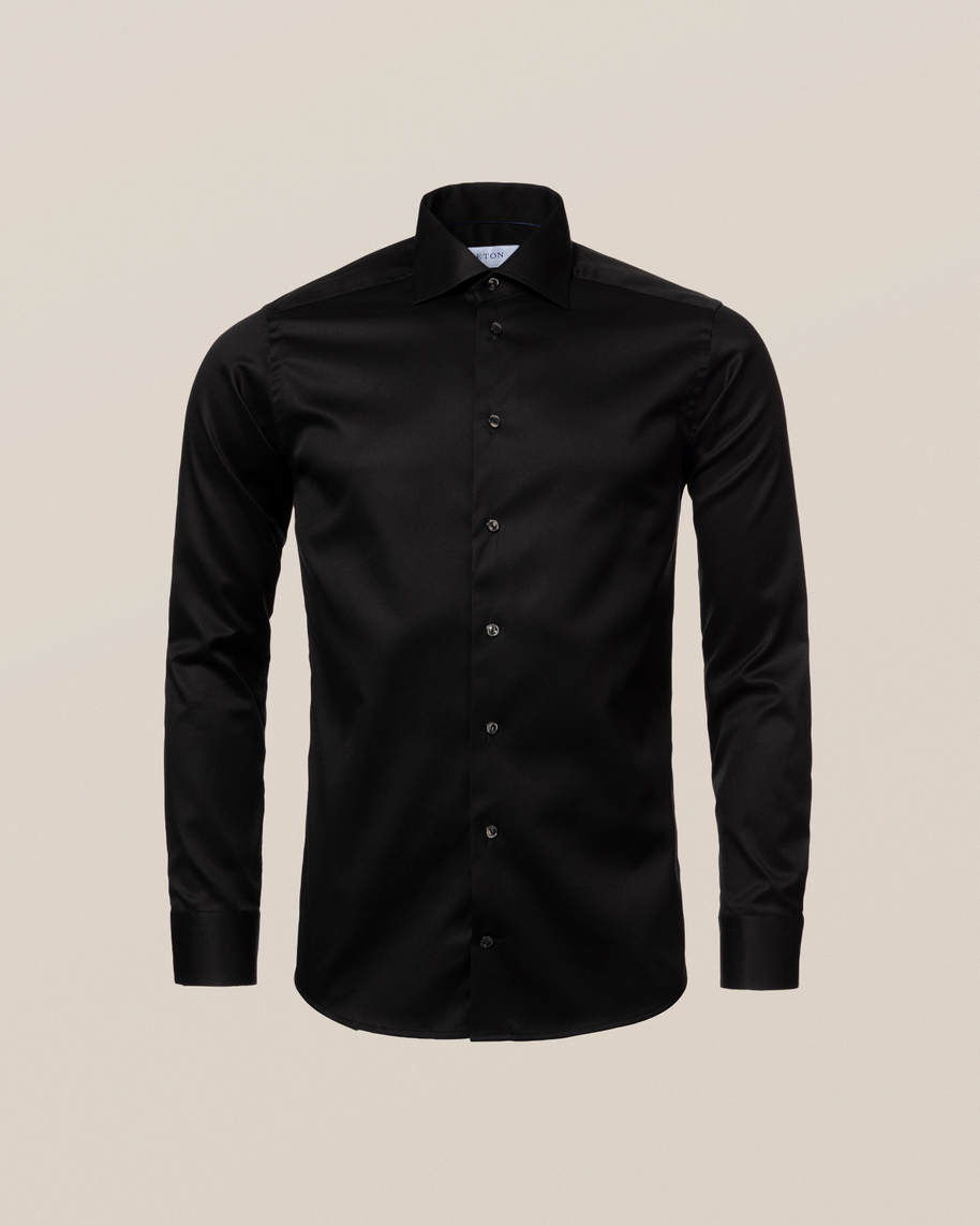 Black Signature Twill Shirt - image 9