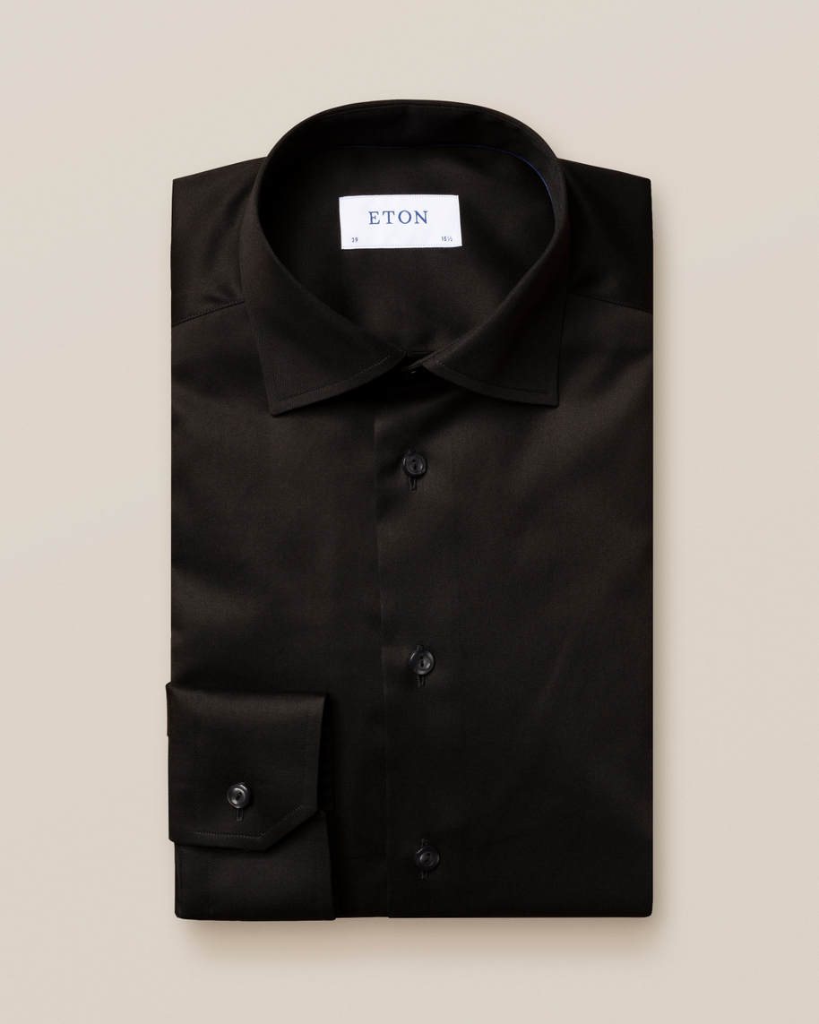 Black Signature Twill Shirt - image 2