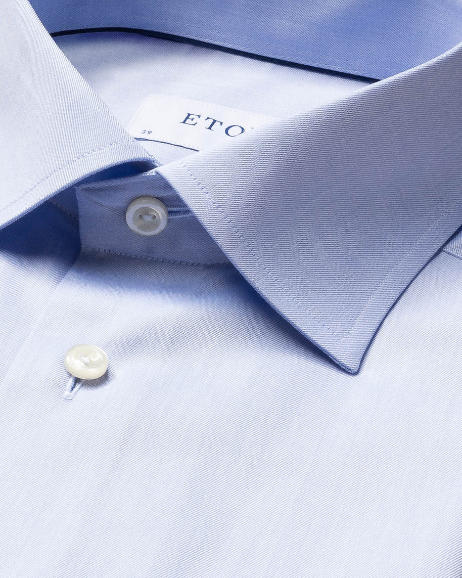 Light Blue Signature Twill Shirt - image 4