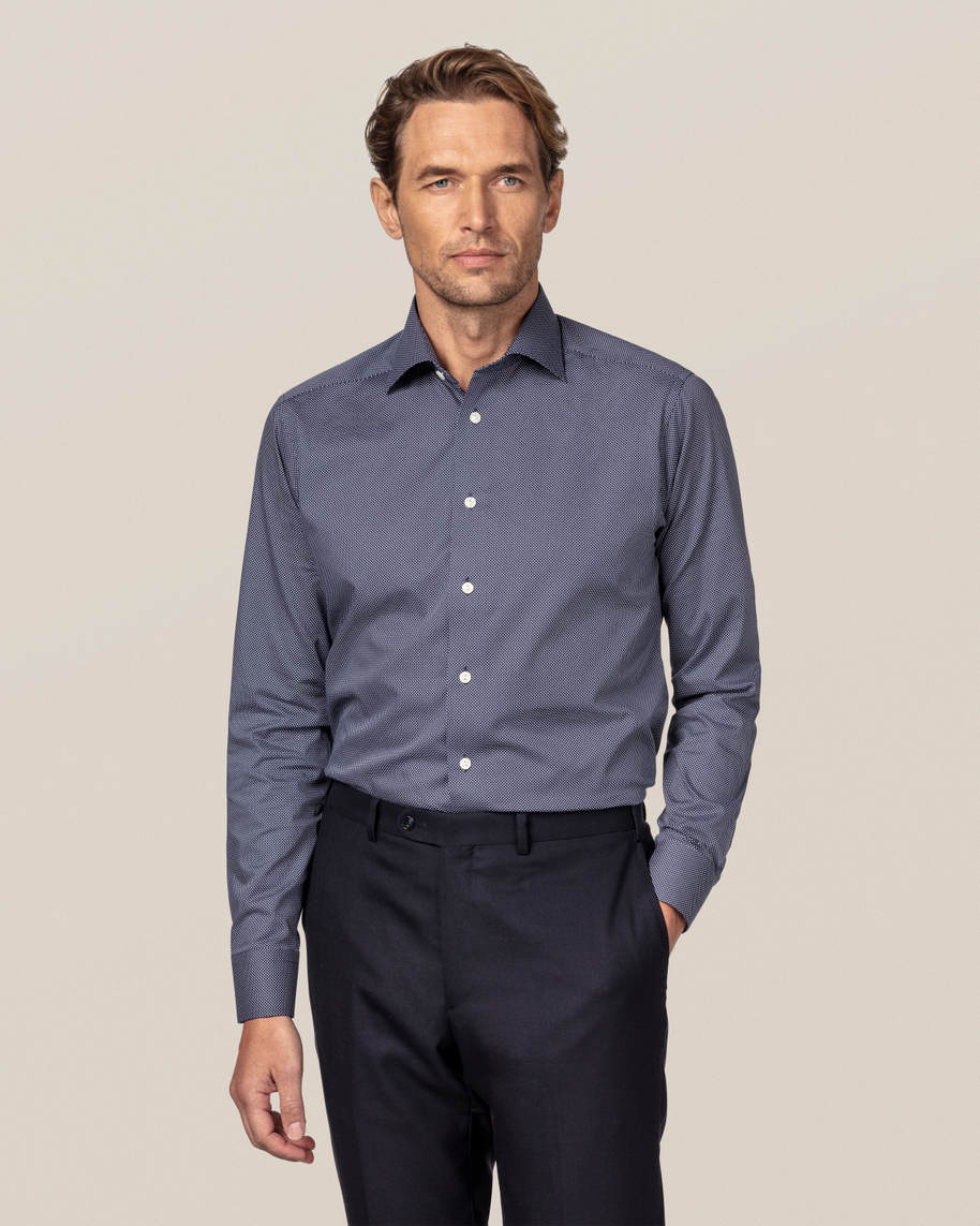 Dark Blue Signature Dots Shirt - image 1