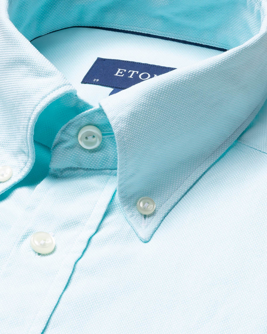 Turquoise Oxford Shirt