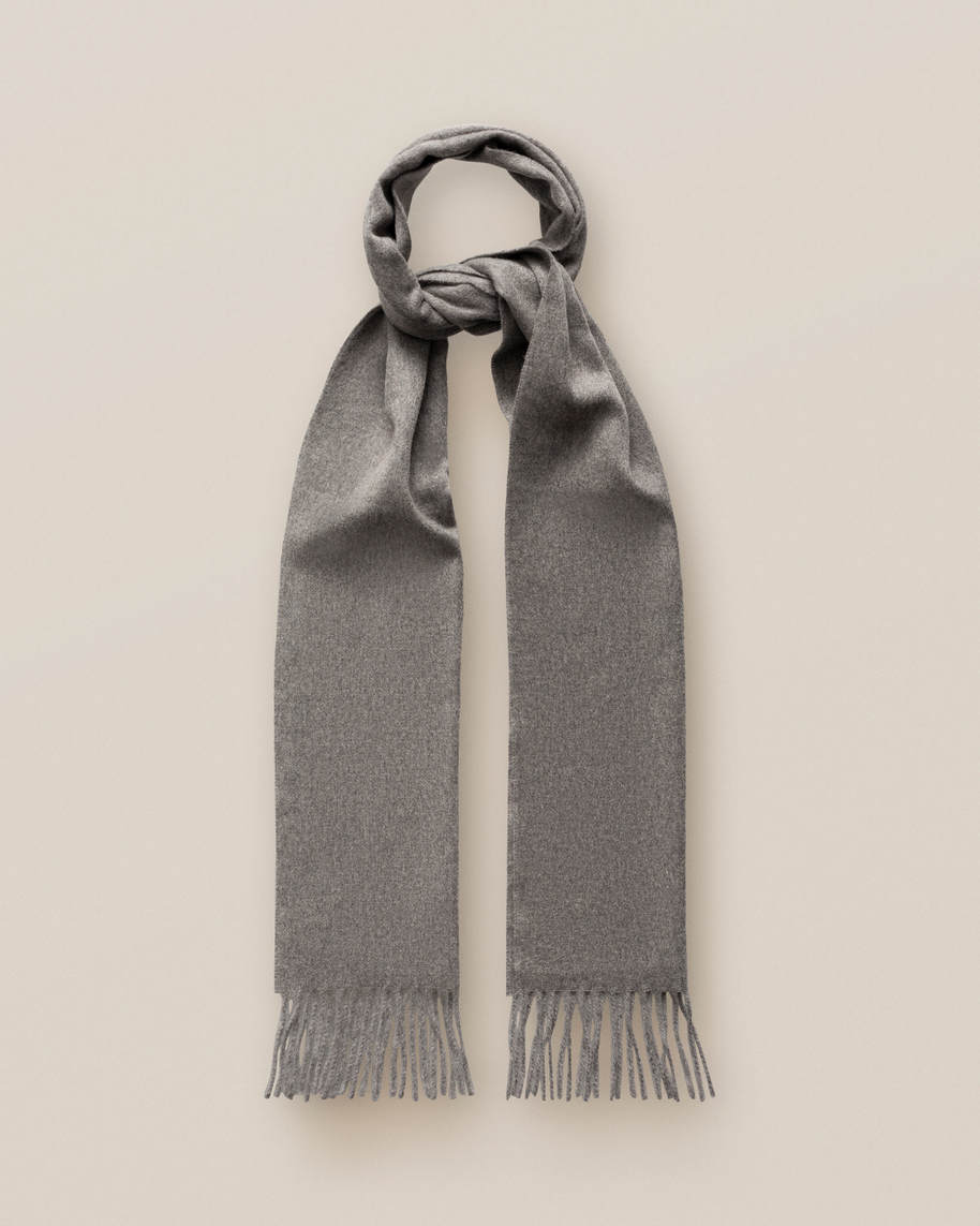 Dark Grey Cahsmere Scarf