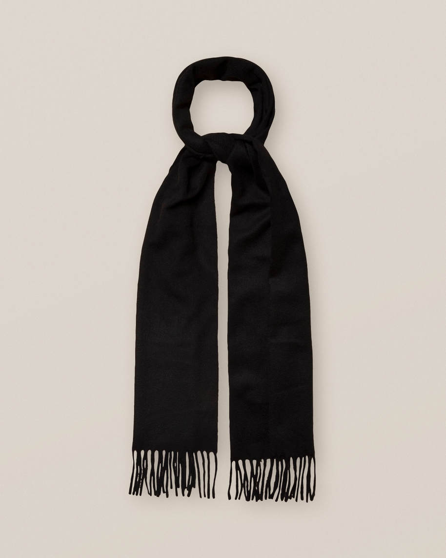 Black Cahsmere Scarf - image 1