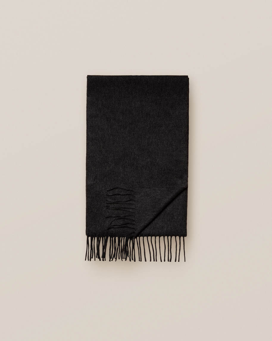 Black Cahsmere Scarf - image 3