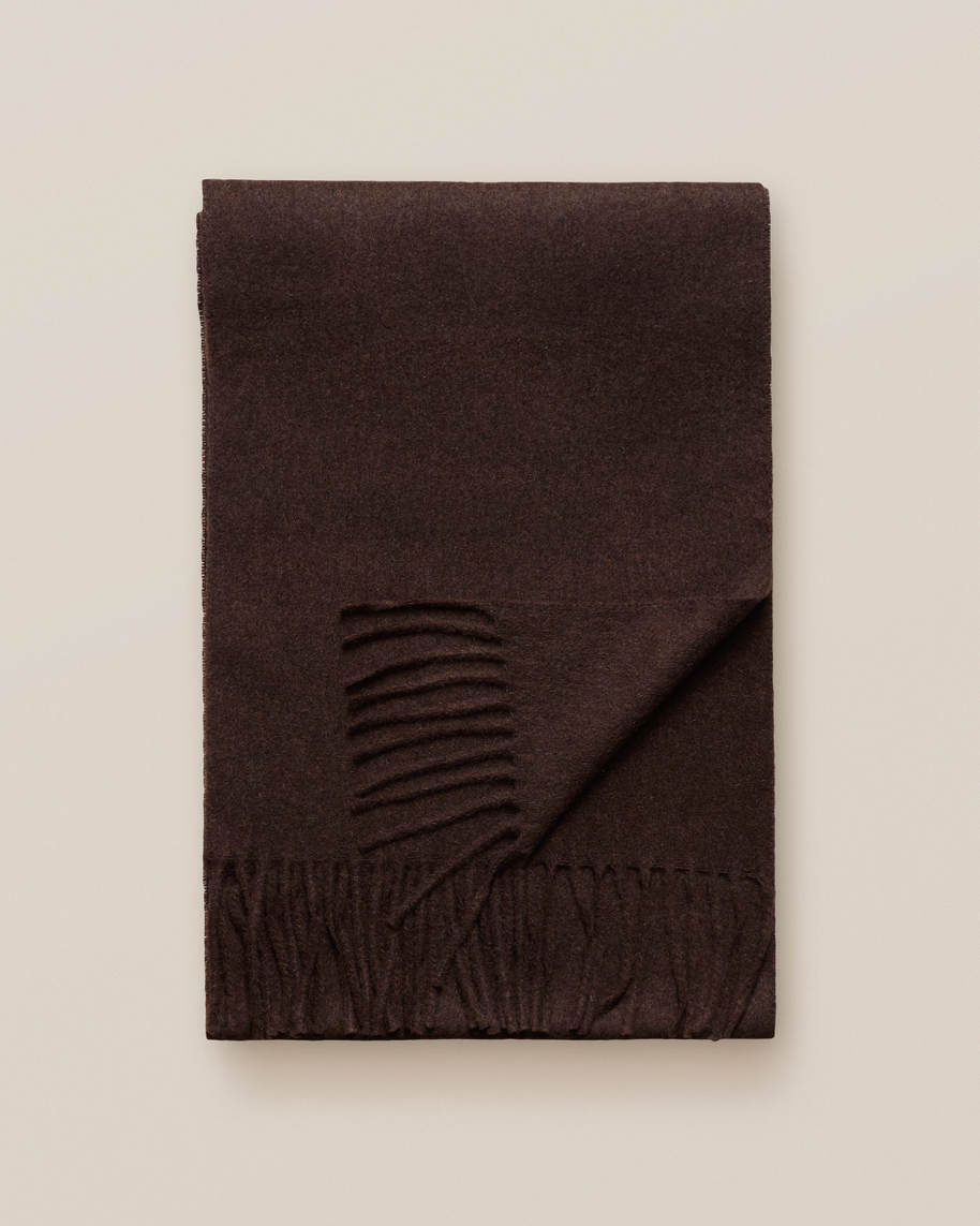Brown Cahsmere Scarf - image 4