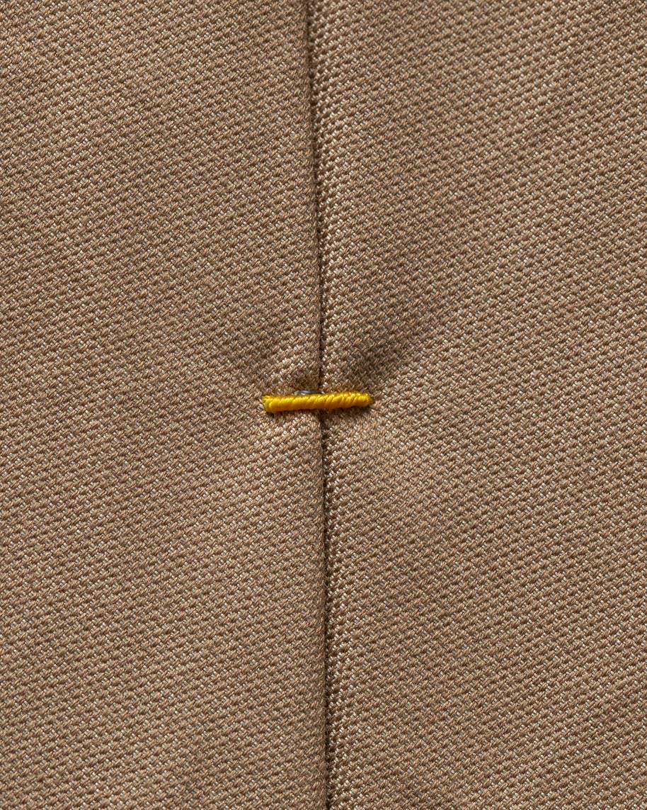 Brown Cotton Tie - image 2
