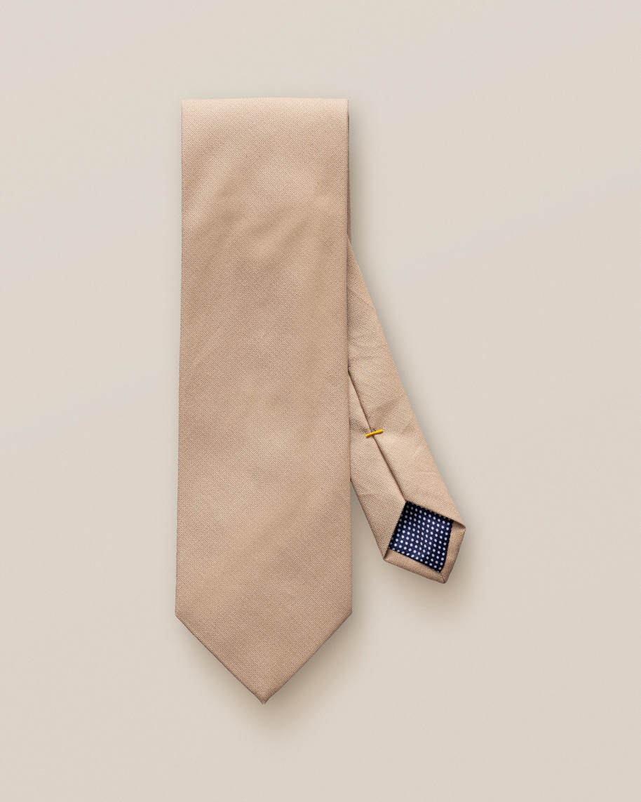 Brown Cotton Tie - image 3
