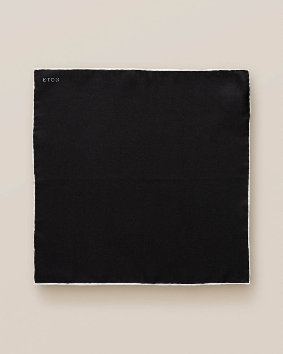 Black Square Pocket Square - image 2
