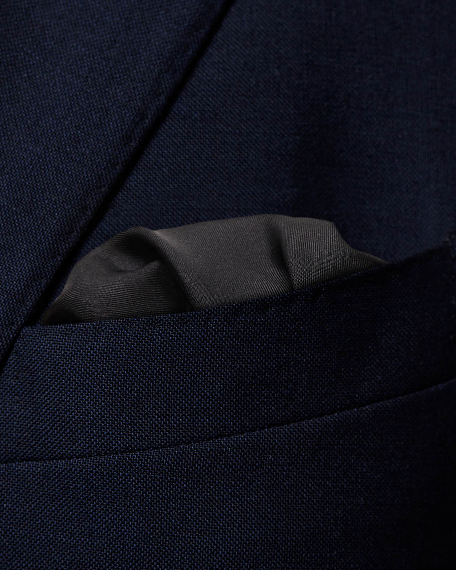 Black Square Pocket Square - image 3